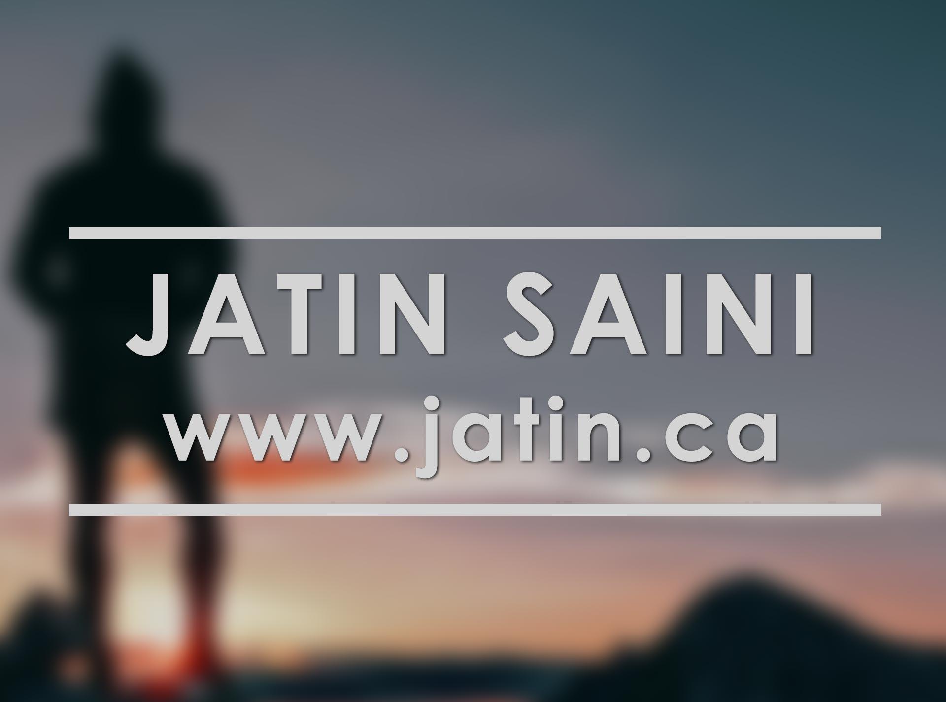 Jatin Saini