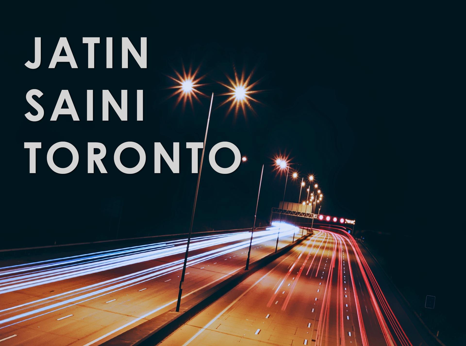 Jatinder Saini Web Specialist Ontario