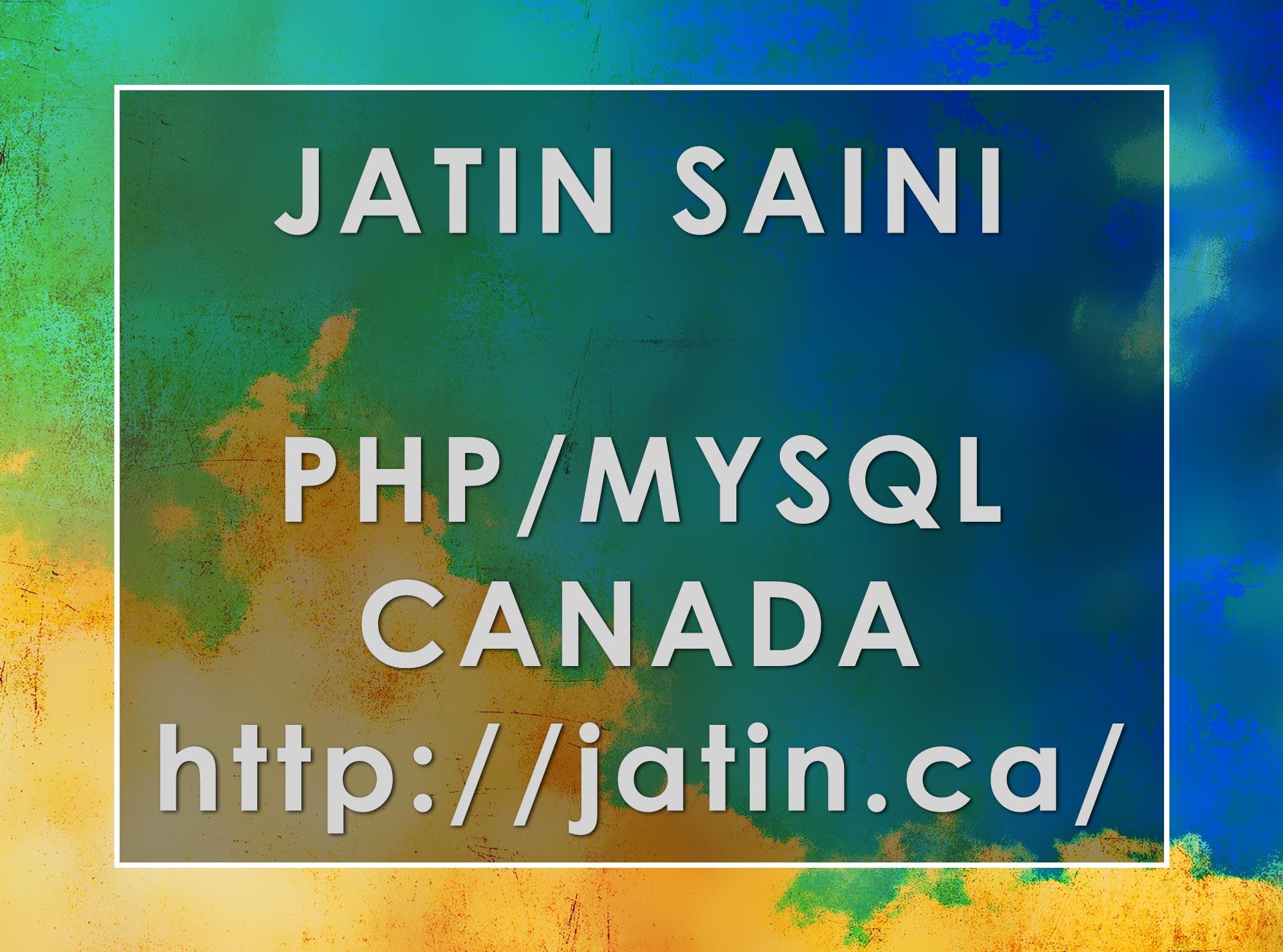 Search Engine Specialist Jatin Saini